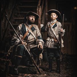 by Jan Kraft - People Portraits of Men ( history, fredrikstad, clothing, vintage, war, norway )