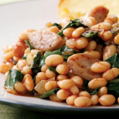 BBQ Baked Beans & Sausage
