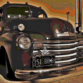 Cool Chevy by Benito Flores Jr - Digital Art Things