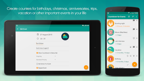 App Countdown For Events Apk For Windows Phone Android
