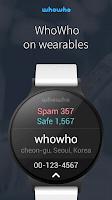 Screenshot of whowho - Caller ID & Block