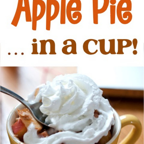 Healthy Apple Pie In A Cup