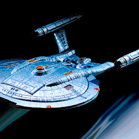 Starship Enterprise  by Richard Lawes - Novices Only Macro