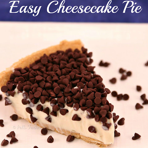 The World's Easiest Cheesecake Pie