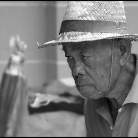 Old Men by Jurij Duschko - People Portraits of Men ( old, thailand, men )