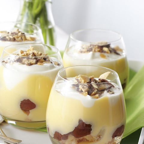 Plum-Yogurt Trifle