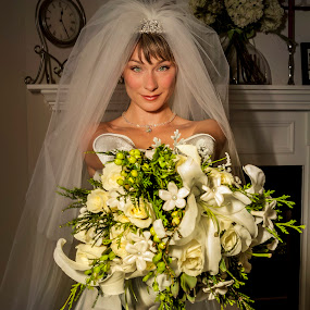 Actress-Jen Dede-Weddng Day by Sandra Rust - Wedding Bride ( bride jen dede )