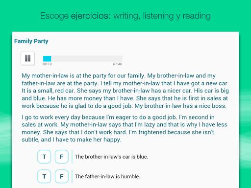 Aprender inglés con Wlingua screenshot 13
