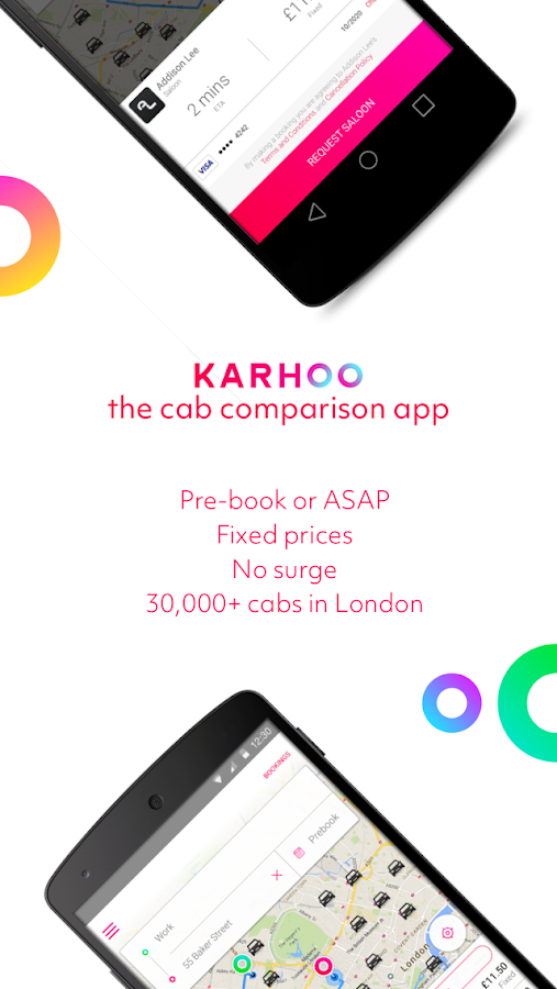 Karhoo: compare cabs and book Screenshot 0