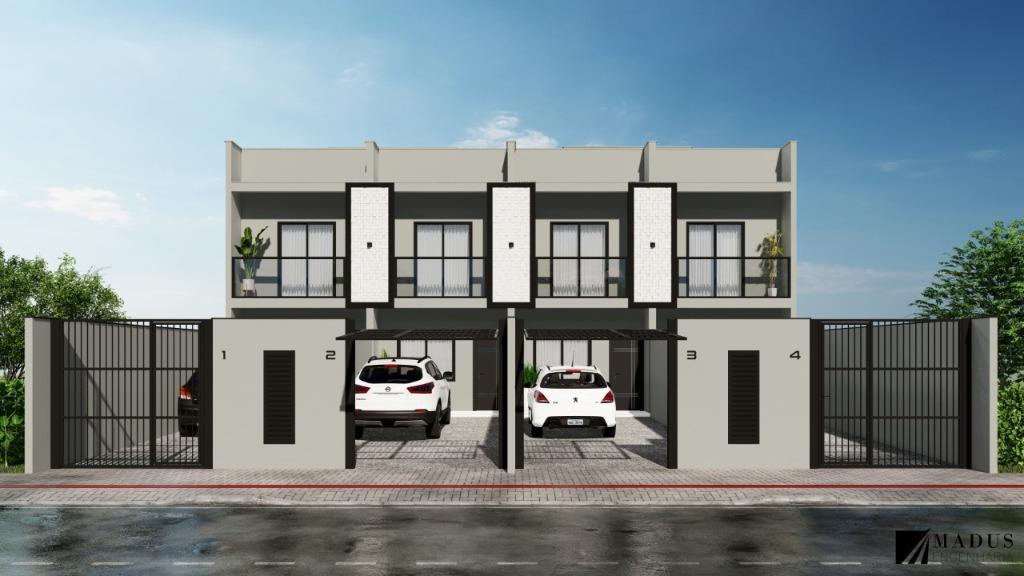 Sobrado com 2 dormitórios à venda, 66 m² por R$ 169.900 - Joaia - Tijucas/SC