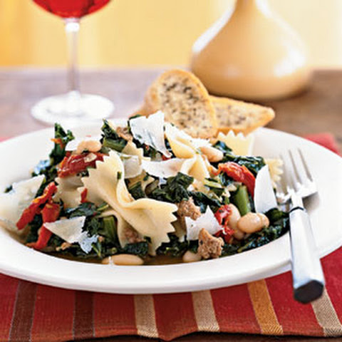 Cannellini Stew with Sausage and Kale and Cheese Toasts Recipe ...