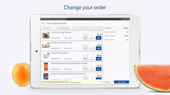 App Tesco Groceries: Food Shop apk for kindle fire