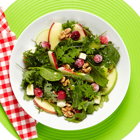Apple, Cranberry and Walnut Salad