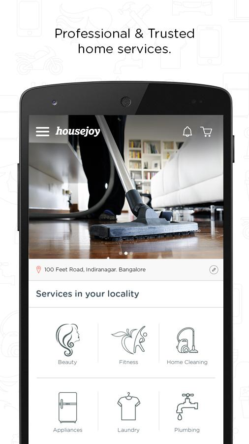 Housejoy-Trusted Home Services Screenshot 1