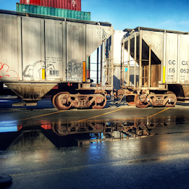 at Port  by Todd Reynolds - Transportation Trains