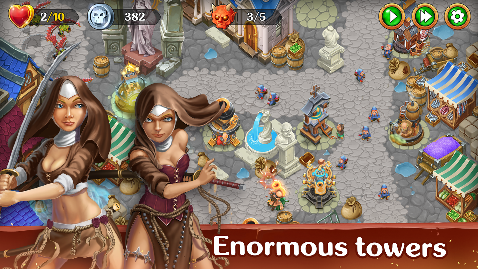 Holy TD: Epic Tower Defense Screenshot 2