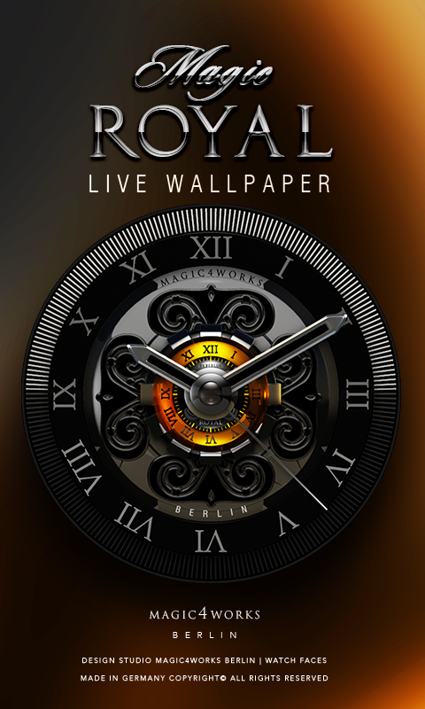 HD Analog Clock Bundle LWP 2 Screenshot 1