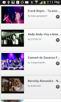 Screenshot of Videos de Bachata