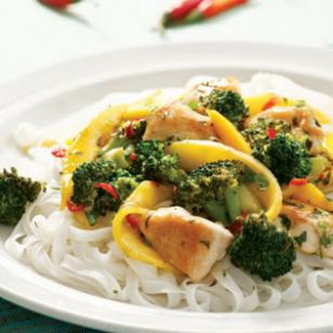 Thai Chicken & Mango Stir-Fry