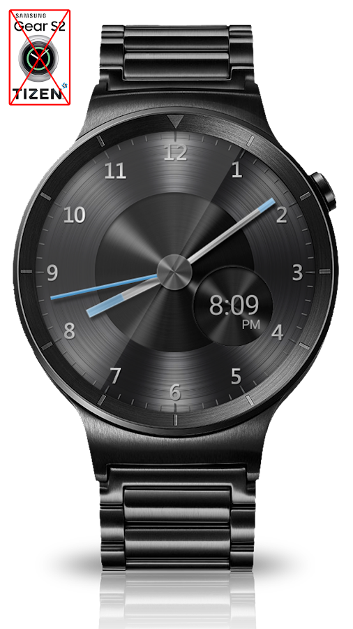Black Metal HD Watch Face Screenshot 7