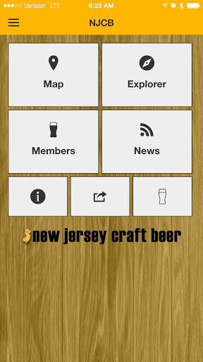 New Jersey Craft Beer Screenshot