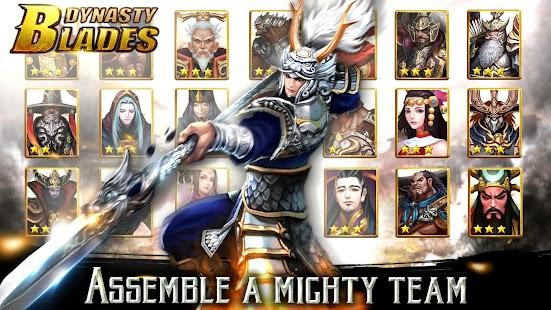 Dynasty Blades: Warriors MMO APK for Bluestacks