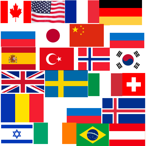Memory Game 1 Flags-Countries