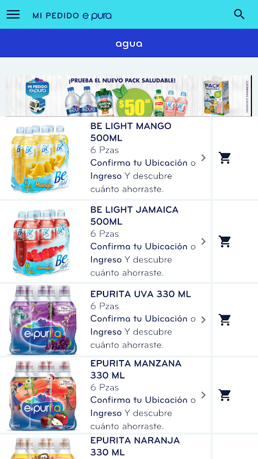 Mi Pedido epura Screenshot 1