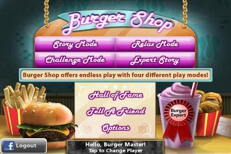 Burger Shop - Free Cooking Game