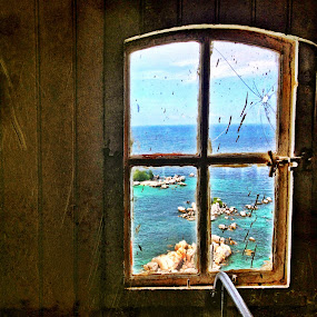 From my window... by Henry Pribadi - Instagram & Mobile iPhone ( #belitung #lighthouse #mwptrip #mariowibowo )