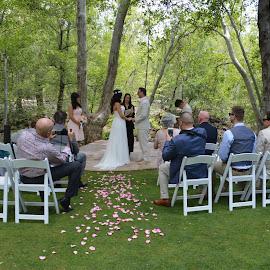 I Do by Nancy Lowrie - Wedding Ceremony ( vows, az, wedding, sedona, bride, groom )