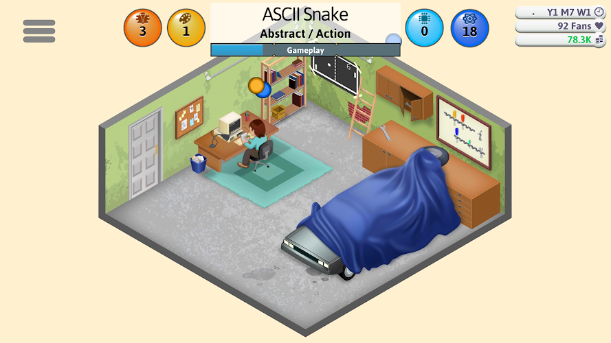 Game Dev Tycoon Android App Screenshot