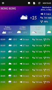 Weather APK for Bluestacks