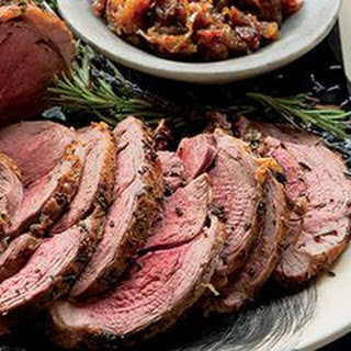 Roast Leg of Lamb with Rosemary and Lavender