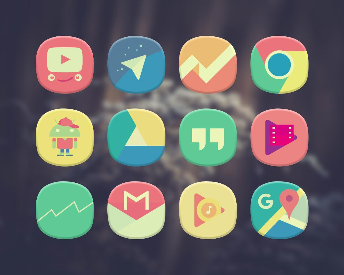 Classique Icon Pack Theme Screenshot 4