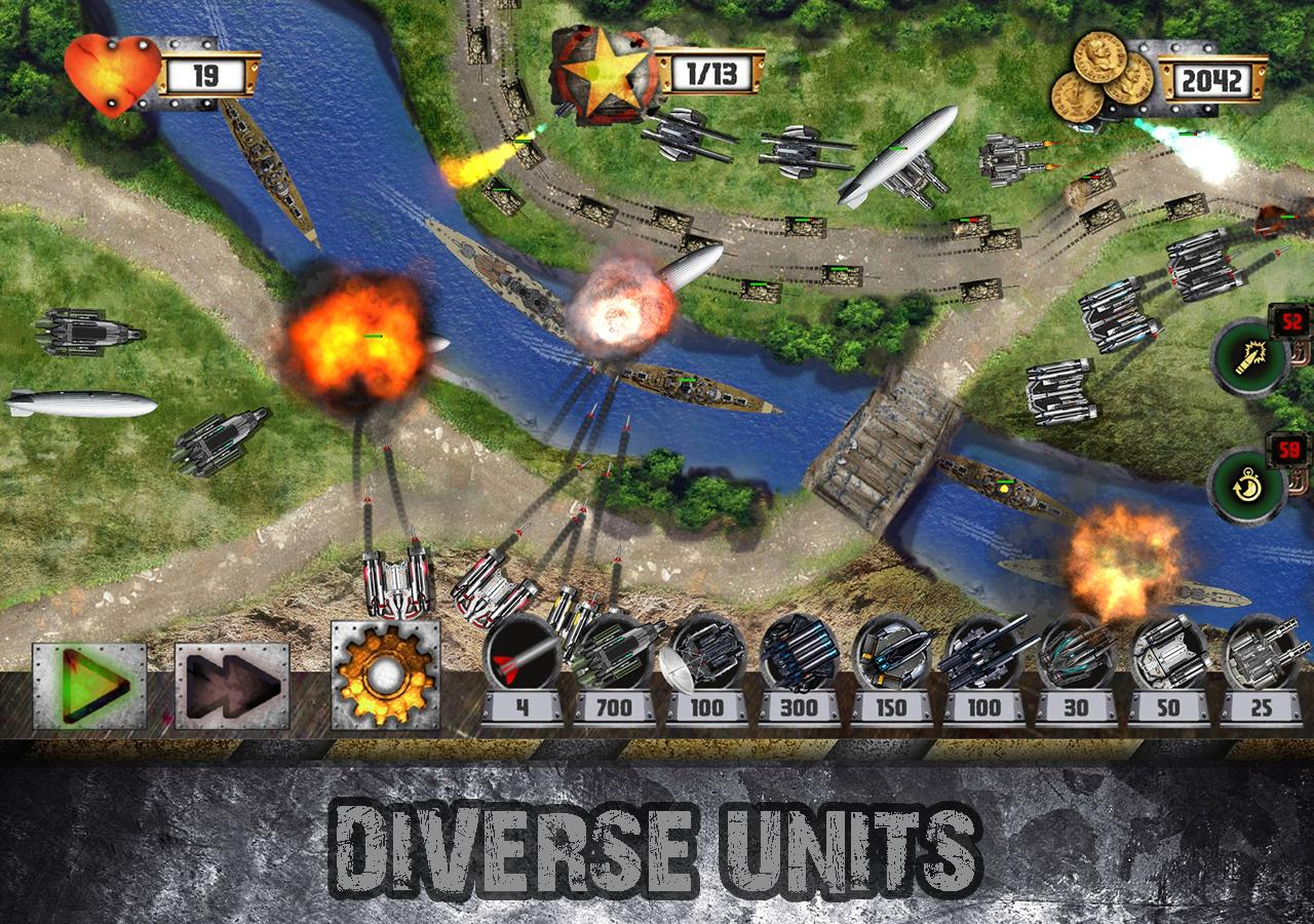 Tower Defense: Tank WAR Screenshot 2