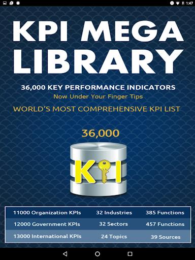 KPI Mega Library - screenshot