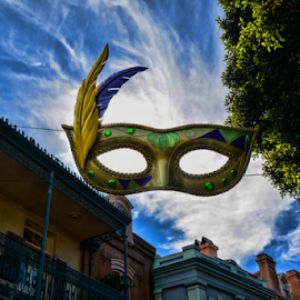 New Orleans Square by Tom Anderson - Buildings & Architecture Other Exteriors ( anaheim, february 2016, california, disneyland, disney california adventure )