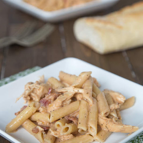 Smokey Garlic Chicken Pasta
