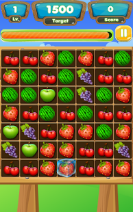Fruit in Line - screenshot
