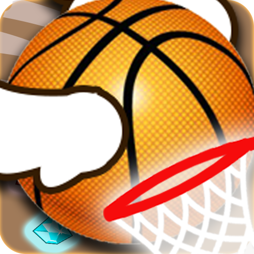 Dunk Jungle Shot For Hit : Jump Basketball