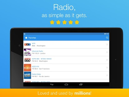 Simple Radio by Streema- screenshot thumbnail