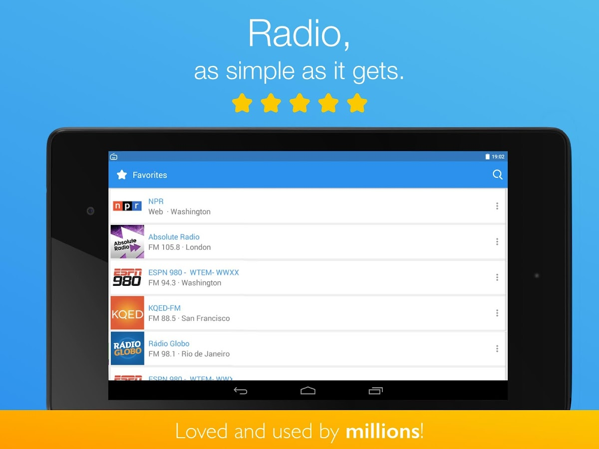 Simple Radio - Free Live FM AM Screenshot 13