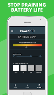 PowerPRO - Battery Saver Screenshot