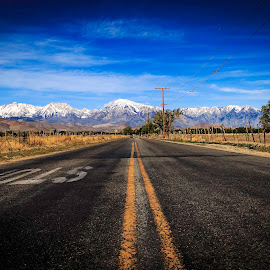 On the road again by Florin Craete - Landscapes Travel ( mountain, snow, trip, road, landscape )