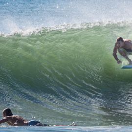 Coming Through by Ralph Brown - Sports & Fitness Surfing ( queensland, australia, surf )