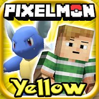 PIXELMON YELLOW FOR MINECRAFT For PC (Windows And Mac)