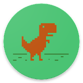 APK Game Dino Runner Chrome for BB, BlackBerry