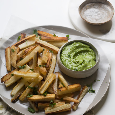 Yucca Fries with Peruvian Aji