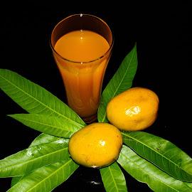 Mangoes by Shiva Ranjita - Food & Drink Fruits & Vegetables ( sweet, fruits, juice, mangoes, yellow )
